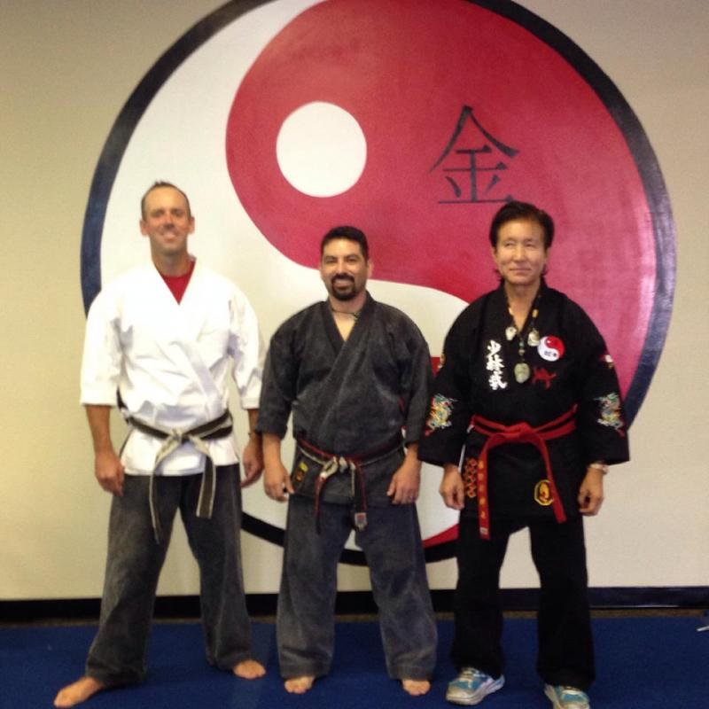 Master Ryan, Sifu Rick and Grandmaster Sin Kwanf The'
